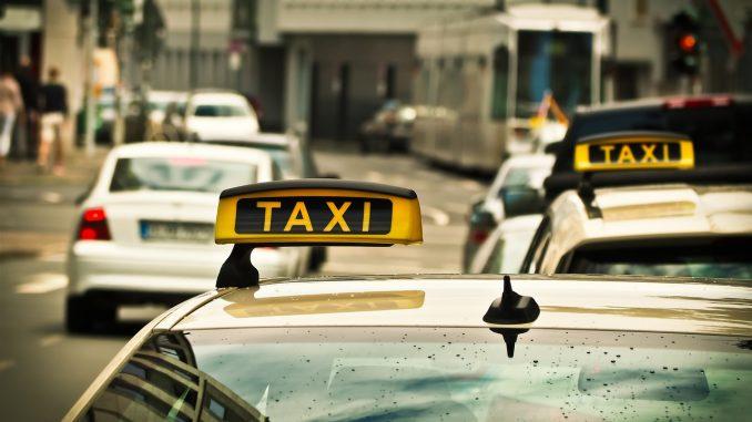 Taxifahrt